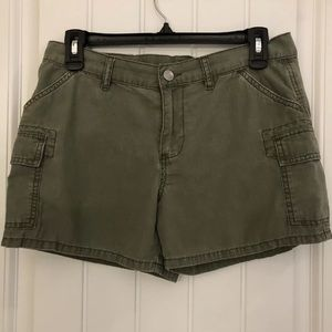 Polo Jeans Ralph Lauren Olive Green Cargo Shorts